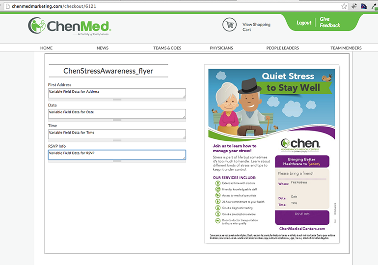 chenmed marketing portal